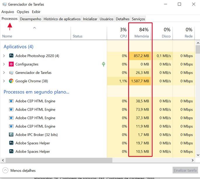 borrar RAM en Windows