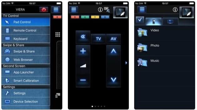 Control remoto de TV Panasonic