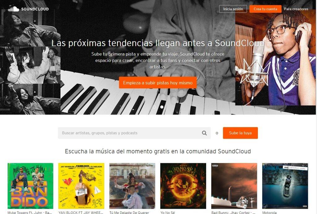 web soundcloud