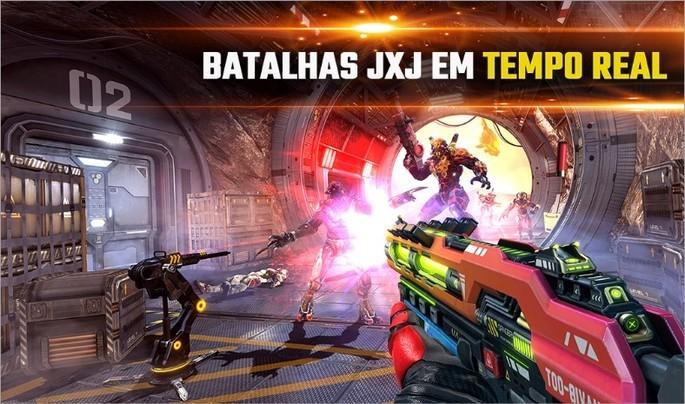 Imagen promocional de Shadowgun Legends