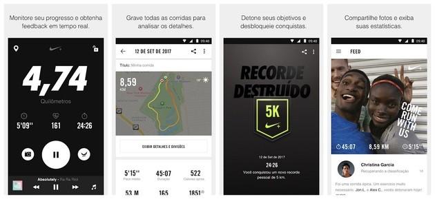 Supervisa la carrera con Nike Run Club