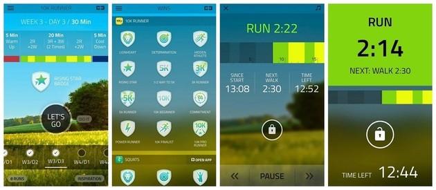 Monitor funcionando con 10K Runner