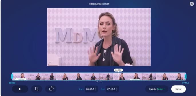 123apps editor de video en línea