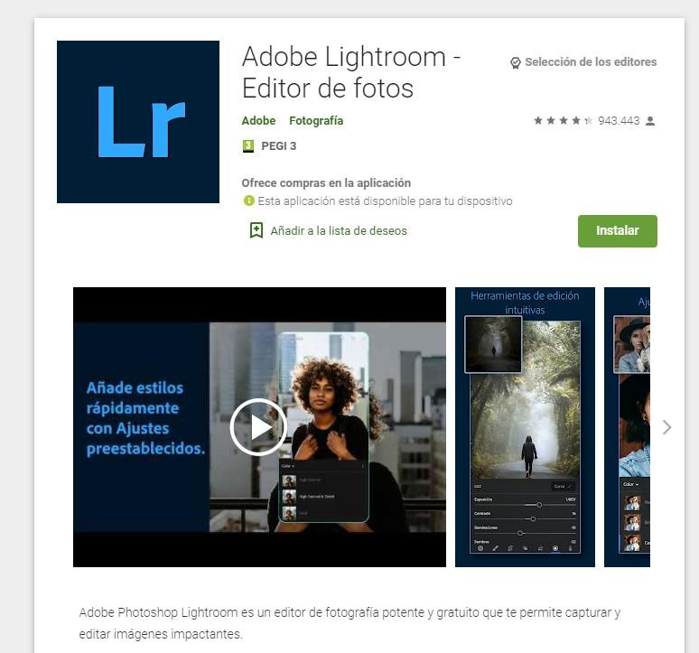 enfocar fotos desenfocadas app adobe lightroom