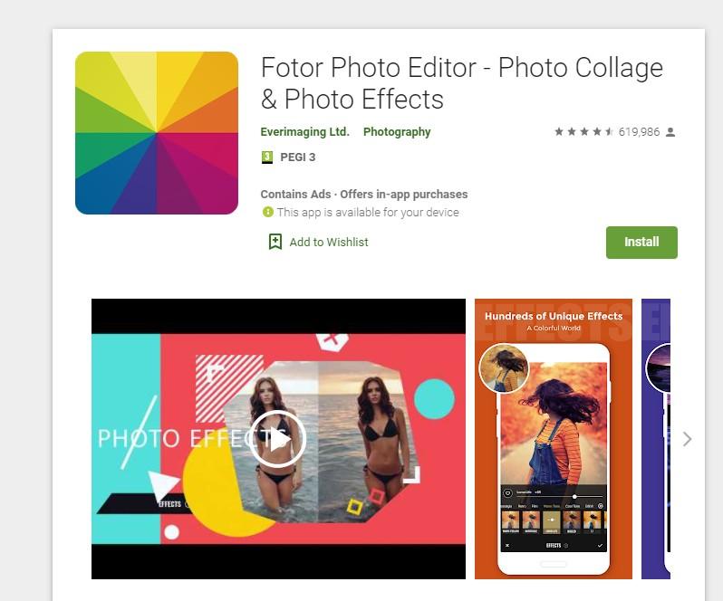 enfocar fotos desenfocadas app fotor