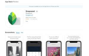enfocar fotos desenfocadas app snapseed