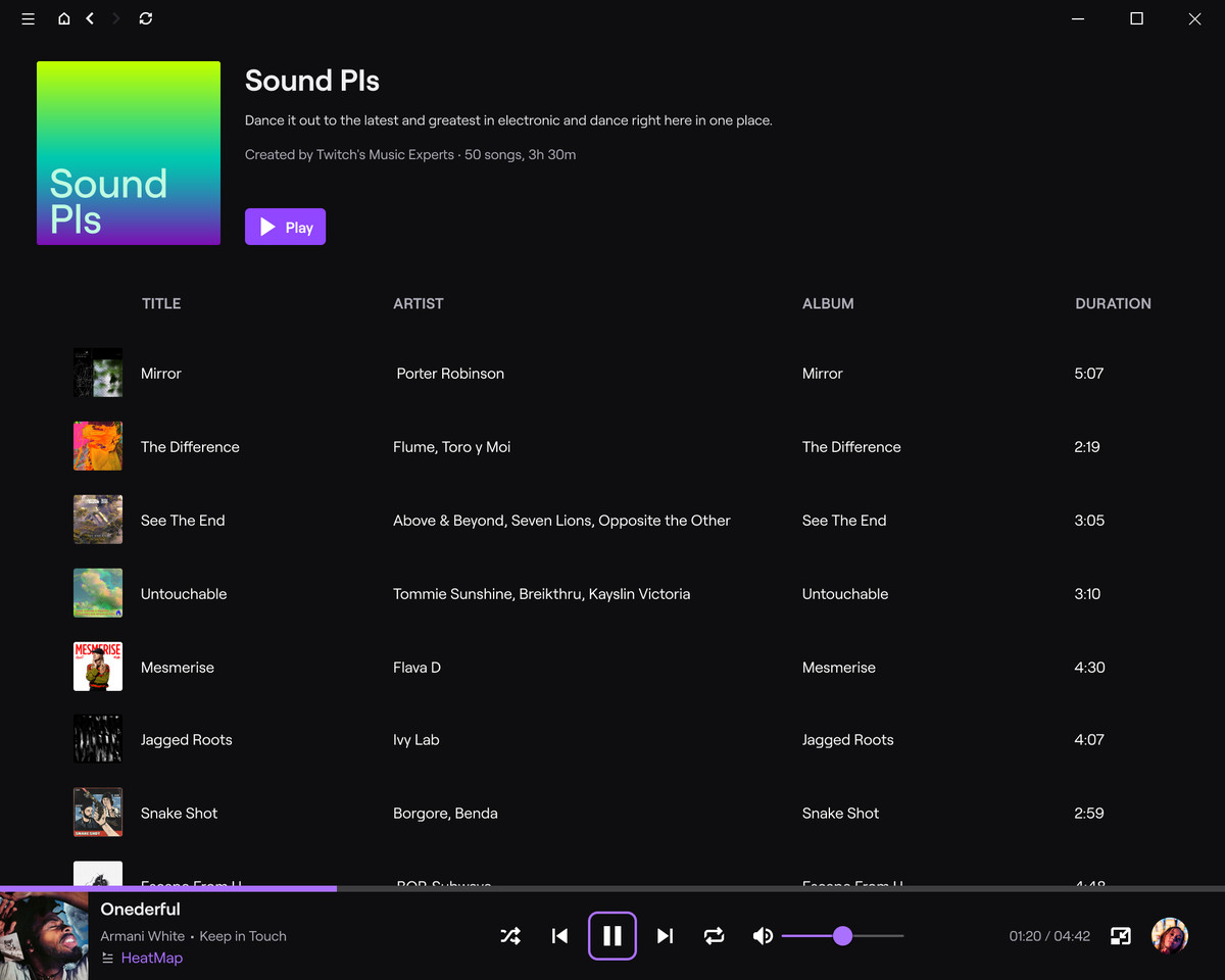 SoundPLS Playlist