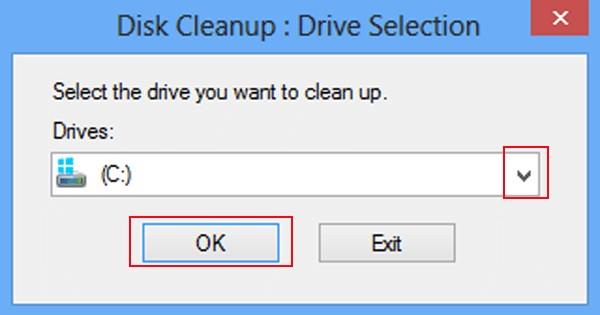 elige un disco duro y toca ok