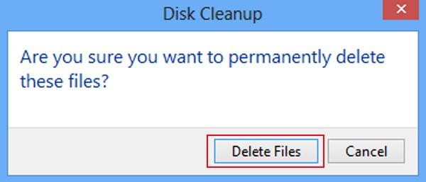toca eliminar archivos