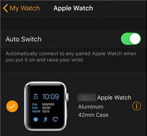 Ver los detalles del Apple Watch